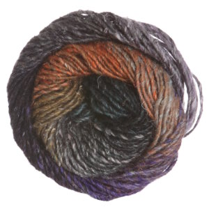 Noro Silk Garden Yarn - 376 Black, Pink, Grey, Orange