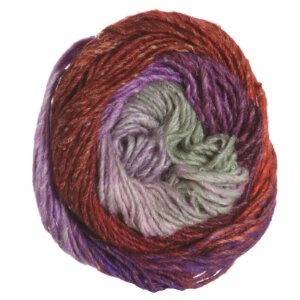 Noro Silk Garden Yarn - 389 Orange, Lilac (Discontinued)