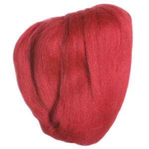 Clover Natural Wool Roving Yarn - Red - 7927