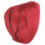Clover Natural Wool Roving - Red