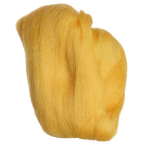 Clover Natural Wool Roving Yarn - Gold
