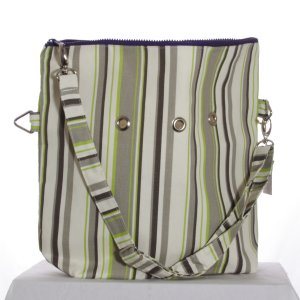 Top Shelf Totes Yarn Pop - Totable - Natural Stripe (Discontinued)