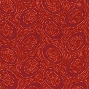 Kaffe Fassett Aboriginal Dots Fabric - Pumpkin