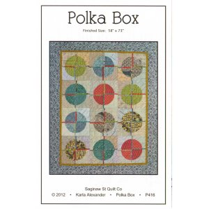 Saginaw St Quilt Company Patterns - Polka Box Pattern