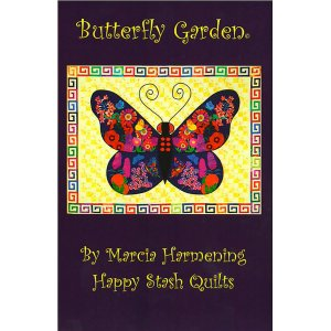 Happy Stash Quilt Sewing Patterns - Butterfly Garden Pattern
