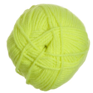 Plymouth Encore Worsted Yarn - 0476 Neon Yellow