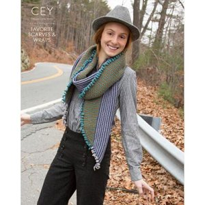 Classic Elite Pattern Books - 9254 Favorite Wraps & Scarves