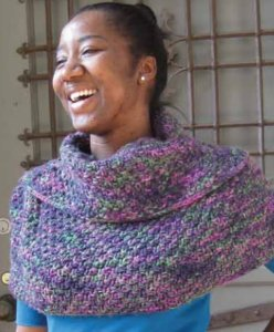 Manos del Uruguay Maxima Montevideo Capelet Kit - Scarf and Shawls