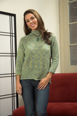 Plymouth Sweater & Pullover Patterns - 2535 Sakkie Woman's Raglan Top Pattern