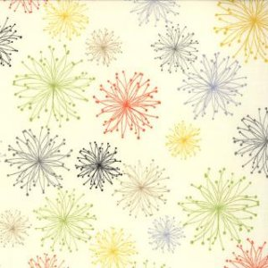 Zen Chic Comma Fabric - Nigella - Multi (1512 17)
