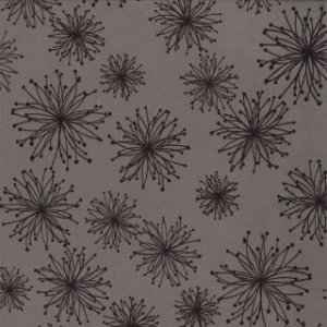 Zen Chic Comma Fabric - Nigella - Slate (1512 13)