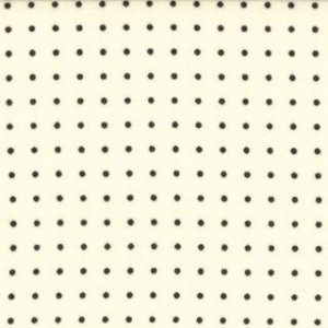Zen Chic Comma Fabric - Periods - Chalk (1515 11)