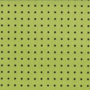 Zen Chic Comma Fabric - Periods - Lime (1515 14)