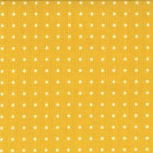Zen Chic Comma Fabric - Periods - Mustard Chalk (1515 23)
