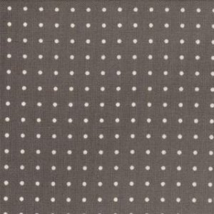 Zen Chic Comma Fabric - Periods - Slate (1515 18)
