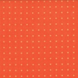 Zen Chic Comma Fabric - Periods - Tangerine (1515 22)