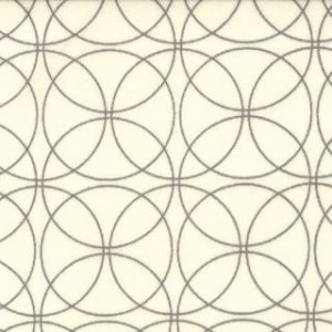 Zen Chic Comma Fabric - Swinging - Chalk Slate (1513 12)