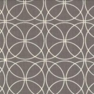 Zen Chic Comma Fabric - Swinging - Slate (1513 17)