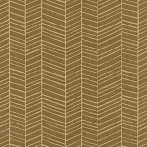 Joel Dewberry Modern Meadow Fabric - Herringbone - Timber