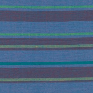 Kaffe Fassett Woven Stripe Fabric - Alternating Stripe - Blue