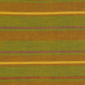 Kaffe Fassett Woven Stripe Fabric - Alternating Stripe - Olive