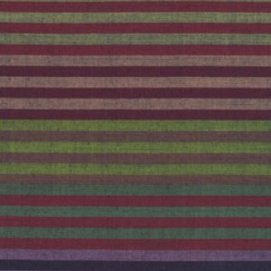 Kaffe Fassett Woven Stripe Fabric - Caterpillar Stripe - Dusk
