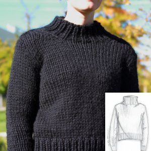 Erika Knight Patterns - Simple Sweater Pattern