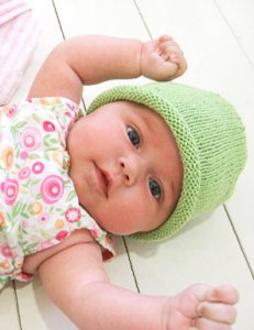 Blue Sky Alpacas Skinny Cotton Simple Baby Hat Kit - Baby and Kids Accessories