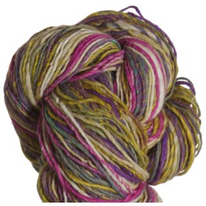 Noro Shiraito Yarn - 31 Mustard, Grey, Purple, Magenta
