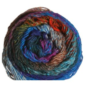 Noro Taiyo Yarn - 42 Turquoise, Pink, Green, Orange