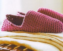 Rowan Handknit Cotton DK Turkish Slippers Kit - Crochet for Adults