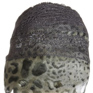 Circulo Tecido Rendado Trico Yarn - 2814 Snow Leopard with Gray Lace