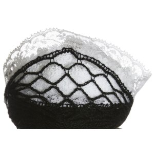 Circulo Rendado Trico Yarn - 2701 Black w/White