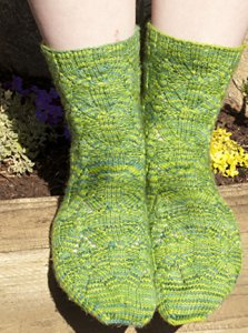 SweetGeorgia Tough Love Sock Cathedral Grove Socks Kit - Socks