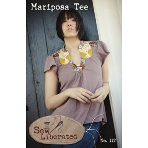 Sew Liberated Sewing Patterns - Mariposa Tee Pattern