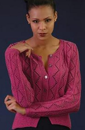 Rowan Handknit Cotton Searing Cardigan Kit - Women's Pullovers