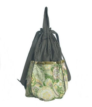 Lantern Moon Swing Bucket - Green/Grey