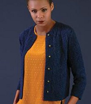 Rowan Denim Pool Caridigan Kit - Women's Cardigans