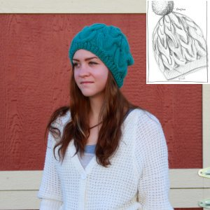 Erika Knight Patterns - Cable Hat Pattern