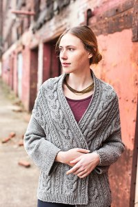 Brooklyn Tweed Patterns - Stranger Cardigan Pattern