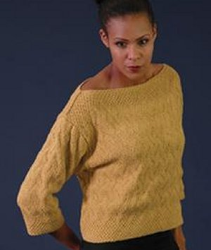 Rowan Handknit Cotton Sand Pullover Kit - Women's Pullovers