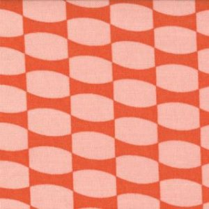 Julie Comstock 2wenty Thr3e Fabric - Modern Girl - Clementine  (37055 15)