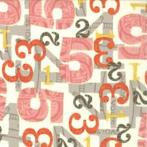 Julie Comstock 2wenty Thr3e Fabric - Five - Parchment (37052 11)