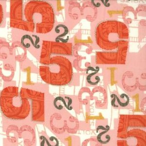 Julie Comstock 2wenty Thr3e Fabric - Five - Petal (37052 12)