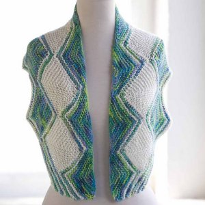 Artyarns Cashmere Glitter Stepping Stones Shawl Kit - Scarf and Shawls