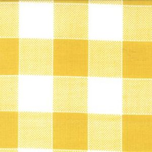 Mary Jane Glamping Fabric - Picnic Check - Honey Bee (11607 16)