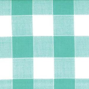 Mary Jane Glamping Fabric - Picnic Check - Wild Blue Yonder (11607 19)