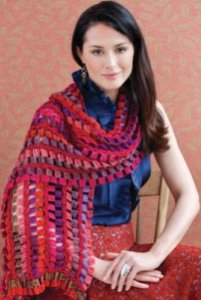 Trendsetter Improv & Merino 6 Ply Scarf Kit - Crochet for Adults