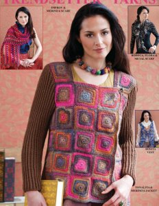 Trendsetter Tonalita & Merino 6 Ply Jacket (Multi) Kit - Crochet for Adults