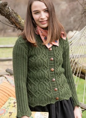 Classic Elite Color by Kristen Lily Pons Cardigan Kit - Women's Cardigans